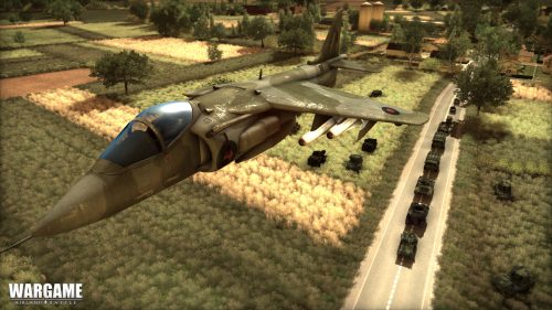 Wargame AirLand Battle Reveals British Units with Screenshots