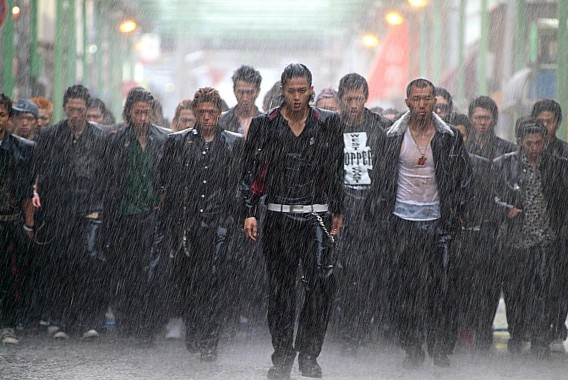 """""""A screen from Crows Zero I, Just a show of what's to come in Crows Explode"""""""
