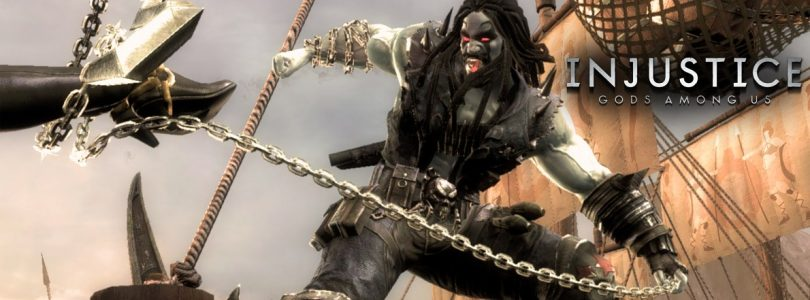 Lobo flips off Batman in Injustice: Gods Among Us Gameplay Reveal