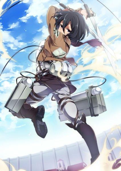 Mikasa attack on titan capsule computers mikasa attack on titan voltagebd Images