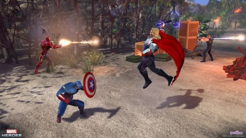 "Marvel Heroes ""Iron Man 3"" Open Beta Weekend Commencing May 4th"