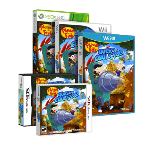Hunt for Treasure in Phineas and Ferb: Quest for Cool Stuff