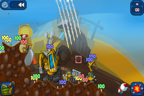 Worms 2: Armageddon available now for Android!