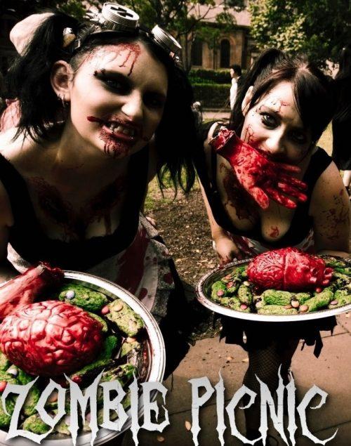 Zombie Invasion at Centennial Park Sydney