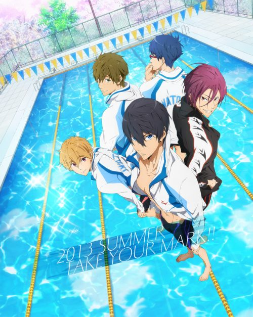 Kyoto Animation unveils Free! the swimming anime you've all wanted