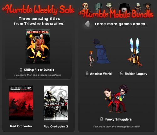 New Humble Weekly Sale and Three New Tiles for Humble Mobile Bundle