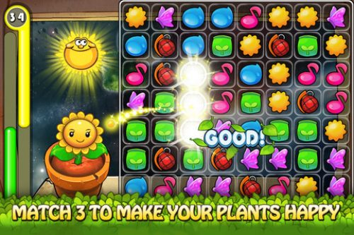 Gamevil Releases Smile Plants for iOS