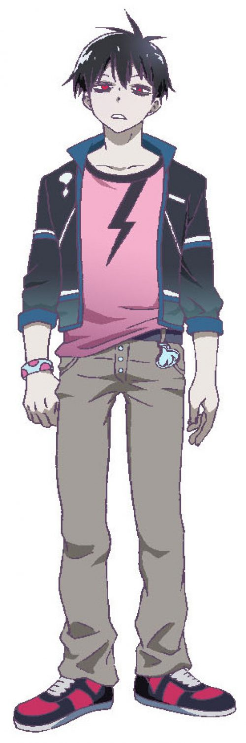 Blood Lad Character Designs Showcased