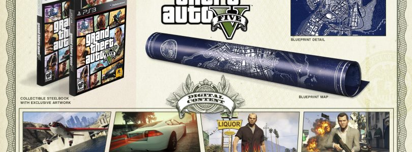Grand Theft Auto V special editions announced and detailed