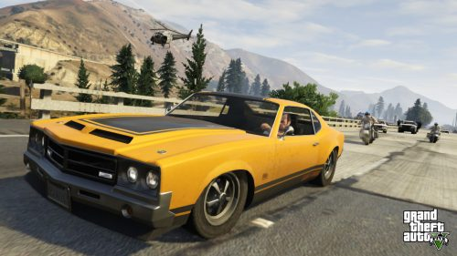 Four New Grand Theft Auto V Screens, Motorcycle Cops Confirmed