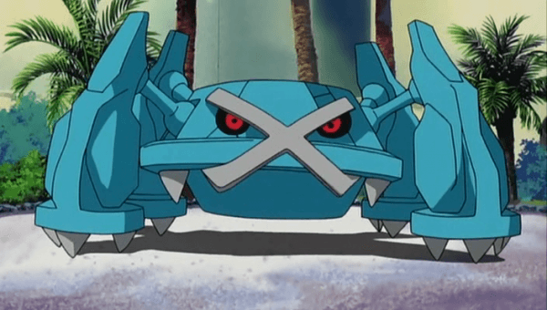 Metagross: The Iron Leg Pokemon.