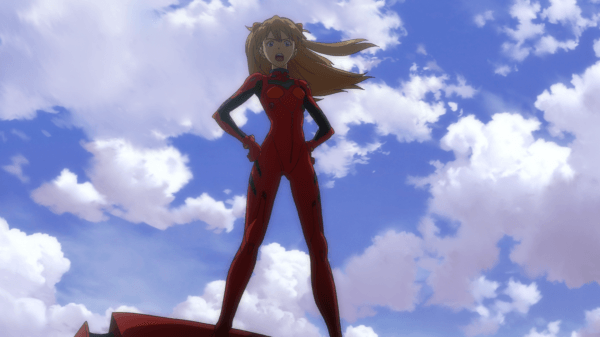 Stand tall, Asuka, stand tall...