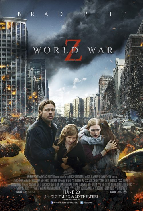 New World War Z Poster and Sydney Premiere Announcement
