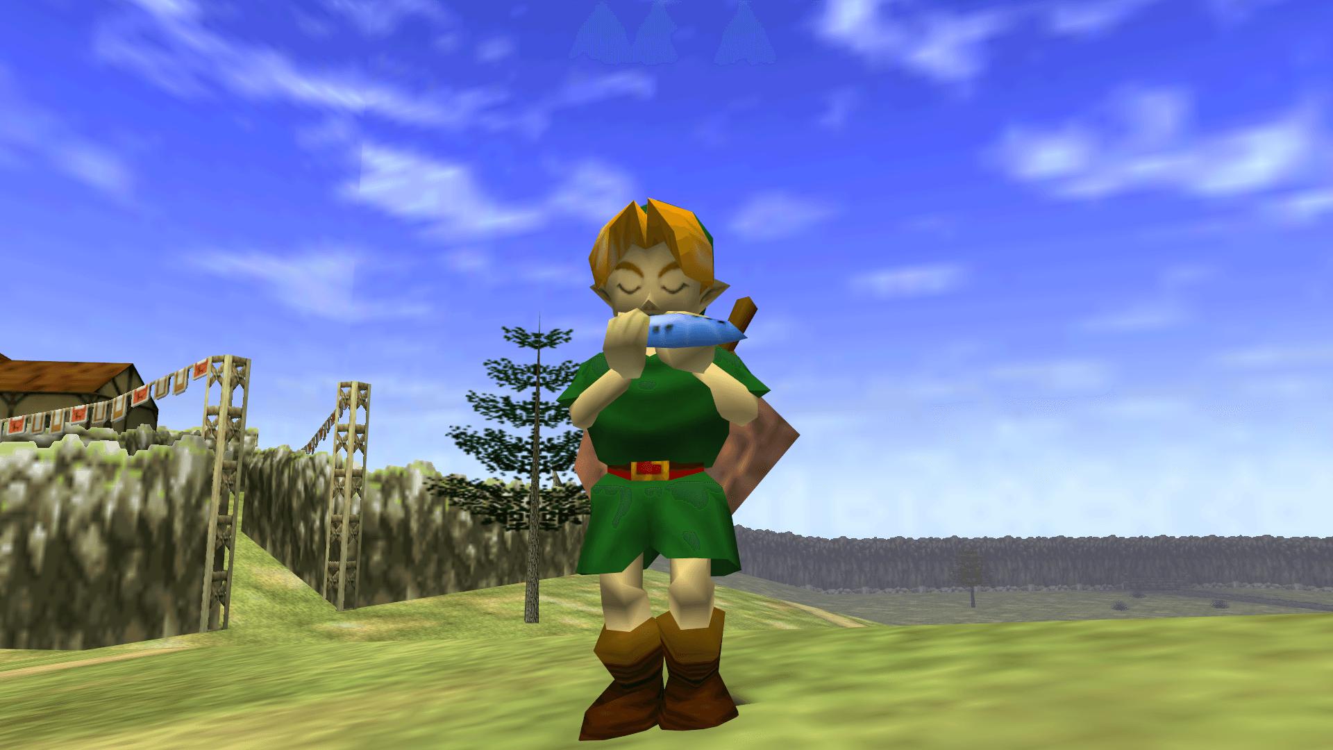 Zelda-Ocarina