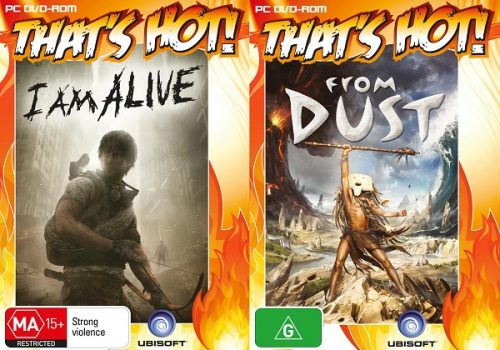 I Am Alive and From Dust released as physical PC titles Australia