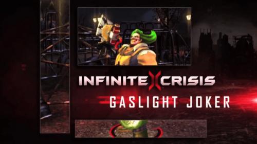 Infinite Crisis Gets Gaslight Joker Profile Video