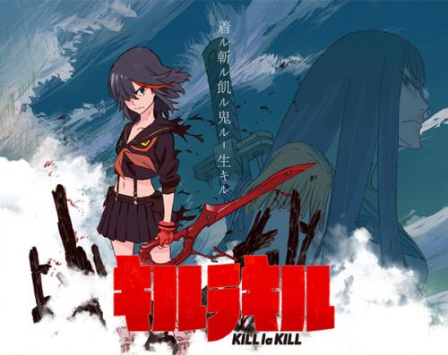 'Kill La Kill' Character Designs and Creators' Thoughts Revealed