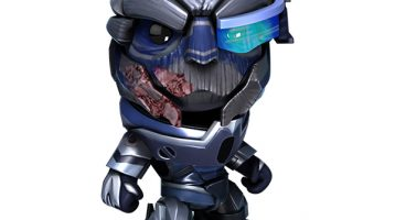 Mass Effect Costume Pack Touching Down on LittleBigPlanet