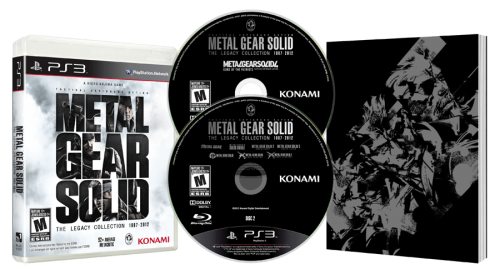 Metal Gear Solid: The Legacy Collection release date set for early July