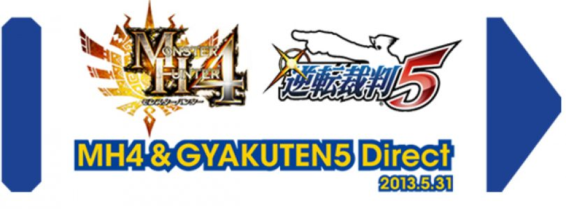 Monster Hunter 4 and Phoenix Wright Nintendo Direct this Week