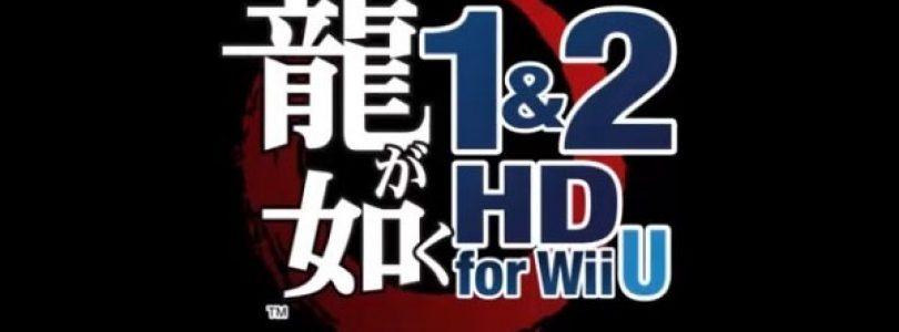 Yakuza 1 & 2 HD announced for Wii U in Japan