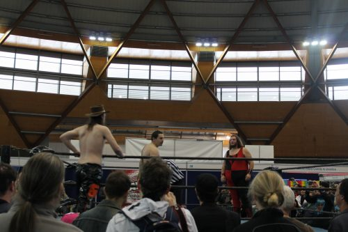 AWF Wrestling lays the smackdown at Supanova Sydney