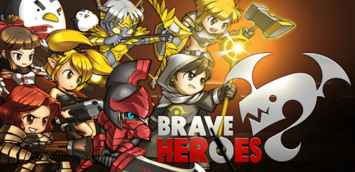 Com2uS Reveals New Game Brave Heroes