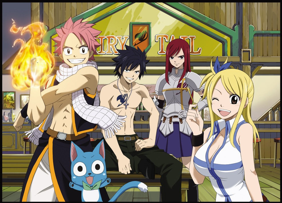 the english dub of hiro mashima s fairy tail the revealed cast will