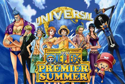 An older poster for the One Piece Summer Special.
