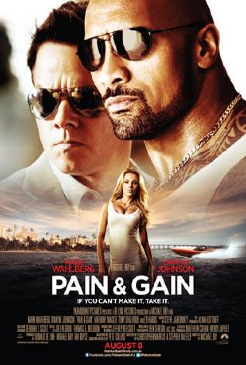 New Pain & Gain Poster