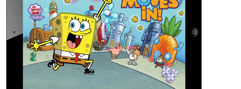 Worldwide Release of The New iOS Game Spongebob Moves In