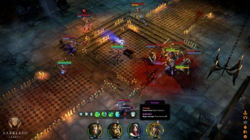 Aarklash: Legacy Shows Off Tactical Combat in New Screenshots