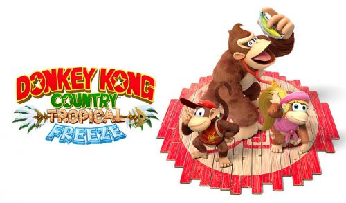 Donkey Kong Country Tropical Freeze Announced