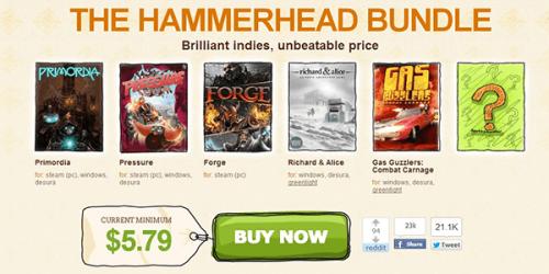 Indie Royale's The Hammerhead Bundle Kicks Off
