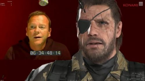 Kiefer Sutherland to voice Snake in Metal Gear Solid V: The Phantom Pain