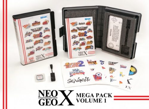 NEOGEO X Classics and Mega Pack Now Available