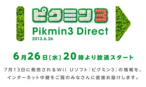 Nintendo of Japan hosting Pikmin 3 Themed Nintendo Direct