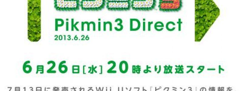 Nintendo of Japan hosting Pikmin 3 Themed Nintendo Direct