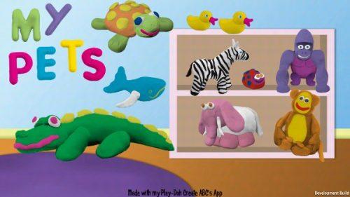 Educational Play-Doh Create ABCs App Reachs Mobile