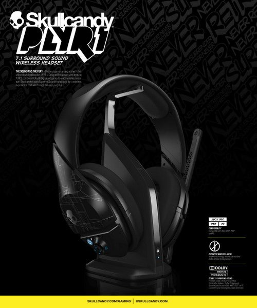 Skullcandy Playr 1 Headset Now Available