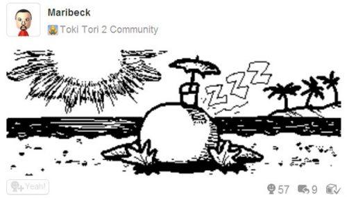Toki Tori 2 Miiverse Drawing Contest Begins Final Round