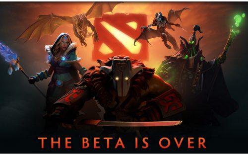 DOTA 2 out of Beta