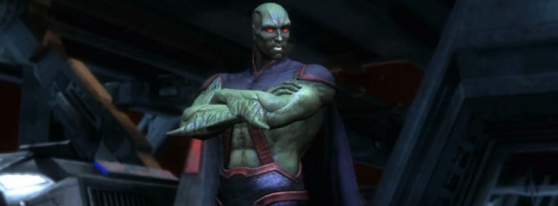 Martian Manhunter is next DLC for Injustice, Gameplay Revealed