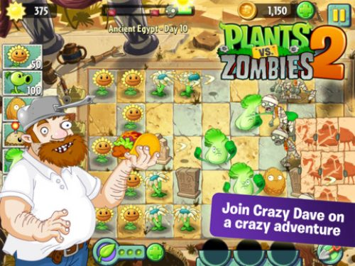 Plants vs. Zombies 2 Launches on iOS