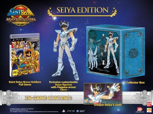 Saint-Seiya Brave Soldiers - Seiya's Edition