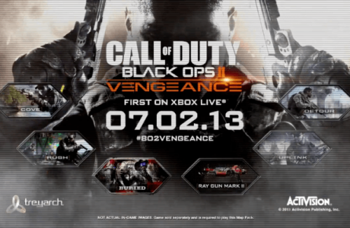 Black Ops II Gets Vengeance DLC