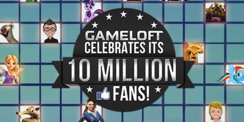 Gameloft Reaches 10 Million Facebook Fans