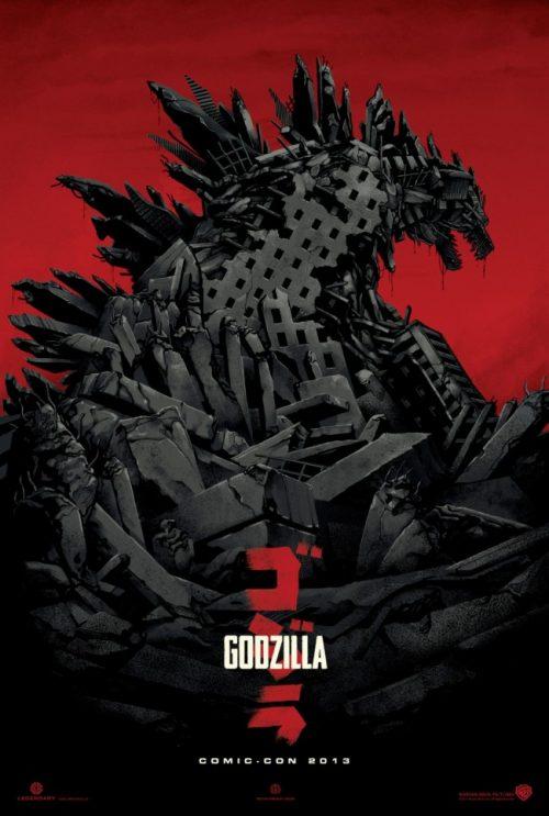 Godzilla Tramples Comic Con
