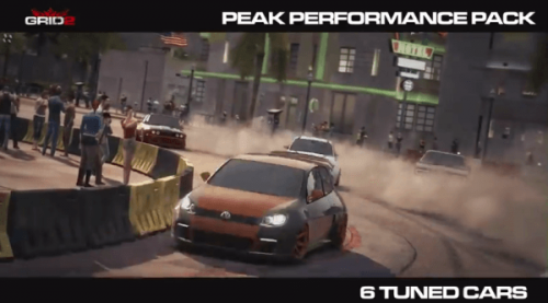 GRID 2 Gets 'Peak Performance Pack' DLC