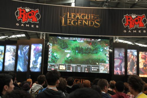 League of Legends at PAX Aus 2013